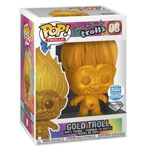 Funko POP Gold Troll 08 Limited Diamond Collection